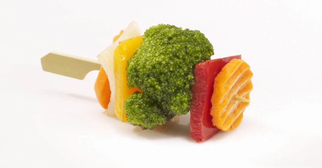 Mini szaszłyk warzywny
