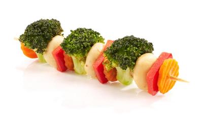Szaszłyk warzywny