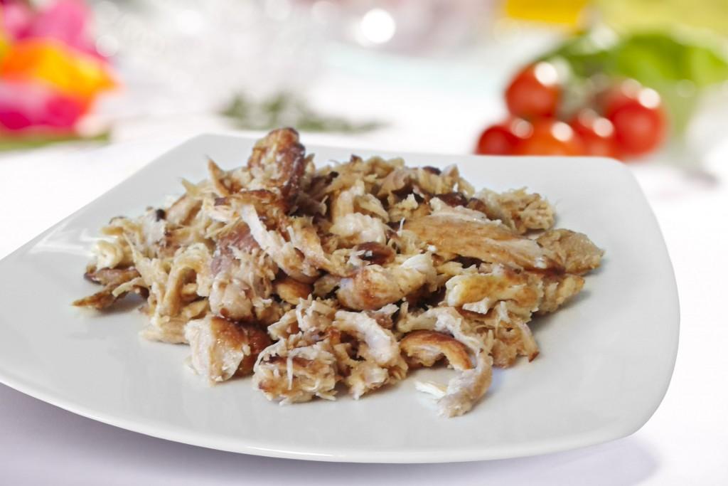 Szarpane mieso z kurczaka